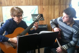 Guitar Lesson at Music Maker Studios