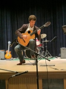 How To Hold A Classical Guitar